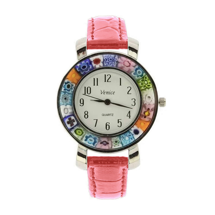 Large Face Millefiori Watch