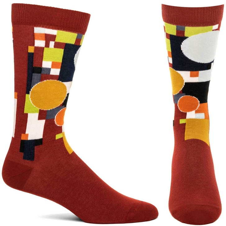 Frank Lloyd Wright Red Coonley Playhouse Socks