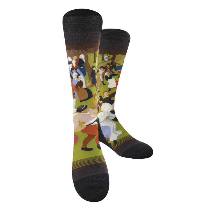 The Wedding Dance, Bruegel Socks