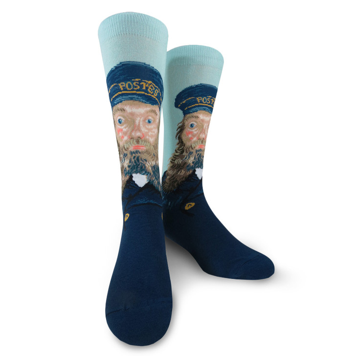Portrait of Postman Roulin, Van Gogh Socks