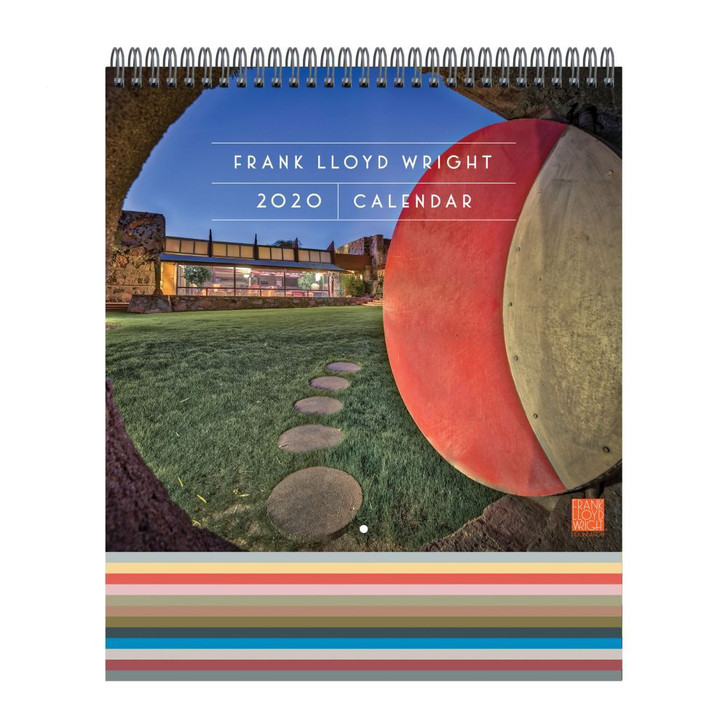 Frank Lloyd Wright Wall Calendar 2020
