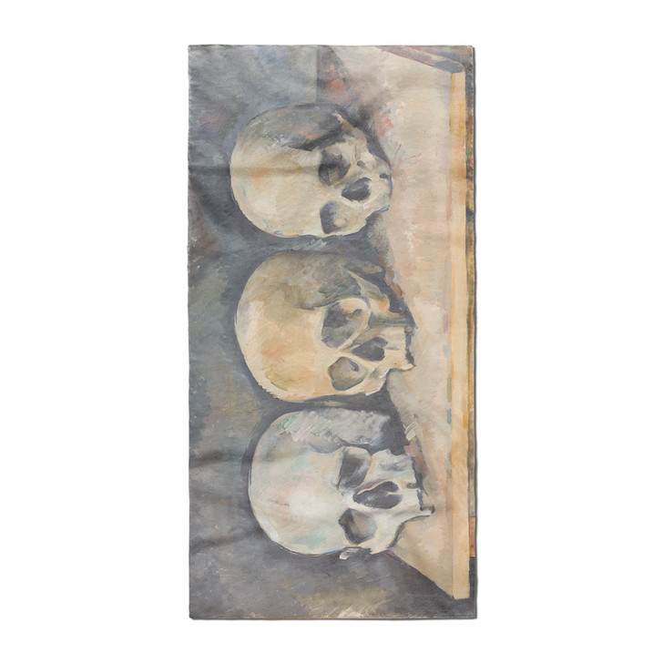 The Three Skulls, Cezanne Poly Scarf