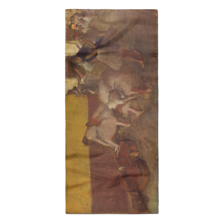 Dancers in the Green Room, Degas Poly Scarf