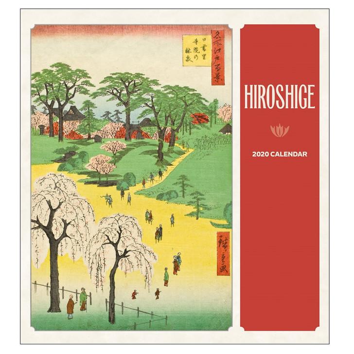 Hiroshige Wall Calendar 2020