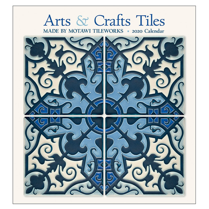 Arts & Crafts Motawi Tile Wall Calendar 2020