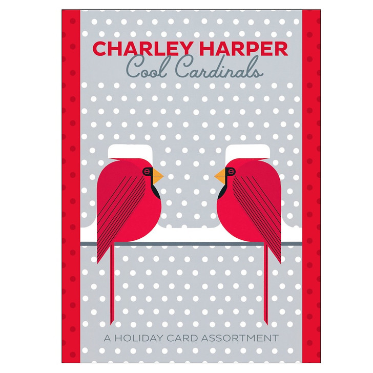 Charley Harper: Cool Cardinals Boxed Holiday Cards