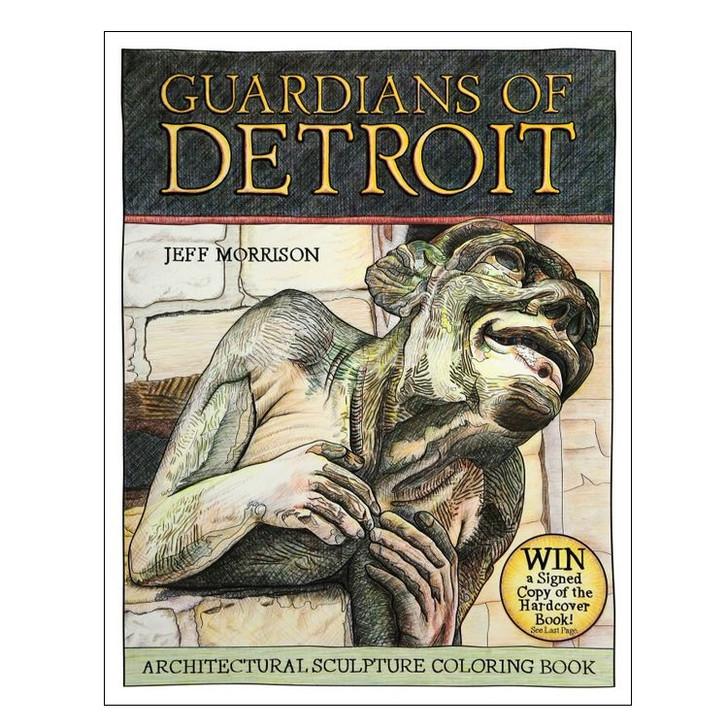 Guardians of Detroit Coloring Book