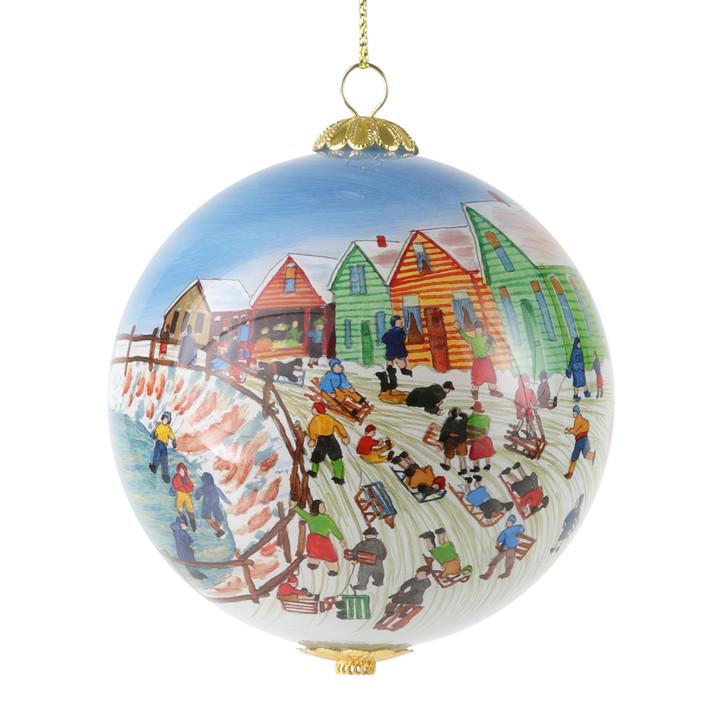 DIA Collection Ornament 4th Annual Limited Edition Winter Scene