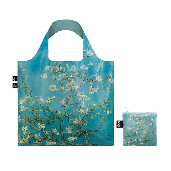 Almond Blossoms, Van Gogh Tote Bag with Pouch