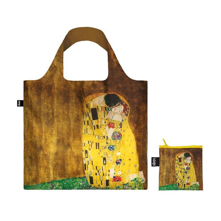 The Kiss, Klimt Tote Bag with Pouch
