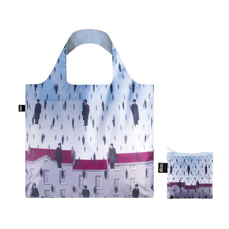 Golconda, Magritte Tote Bag with Pouch