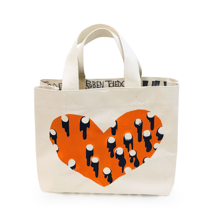 Ruben & Isabel Toledo Hand-Painted Canvas Tote #6