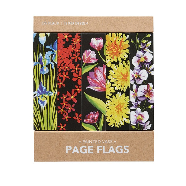 Painted Vase Page Flags