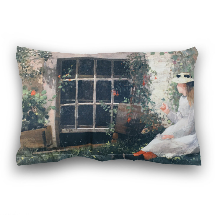 The Four-Leaf Clover, Homer Rectangle Pillow
