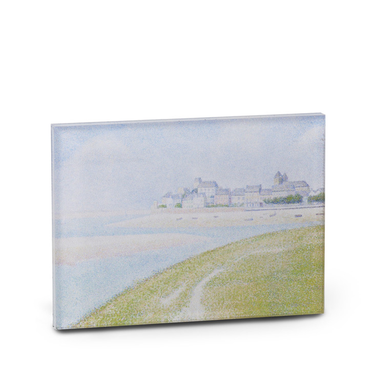 View of Le Crotoy, Seurat Acrylic Magnet