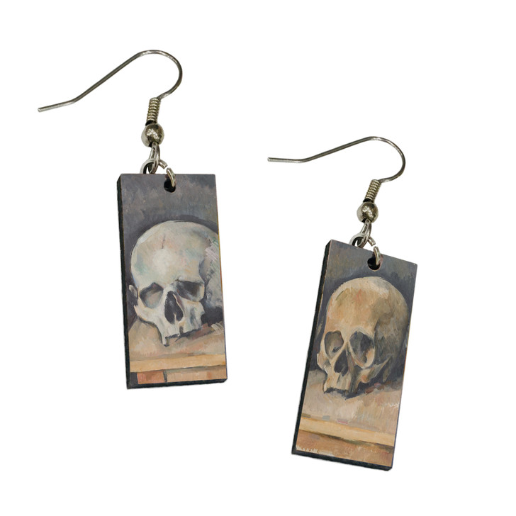 The Three Skulls, Cezanne Dangle Earrings