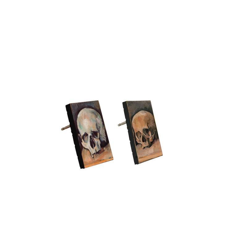 The Three Skulls, Cezanne Stud Earrings