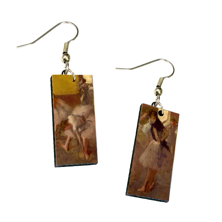 Dancers in the Green Room, Degas Dangle Earrings