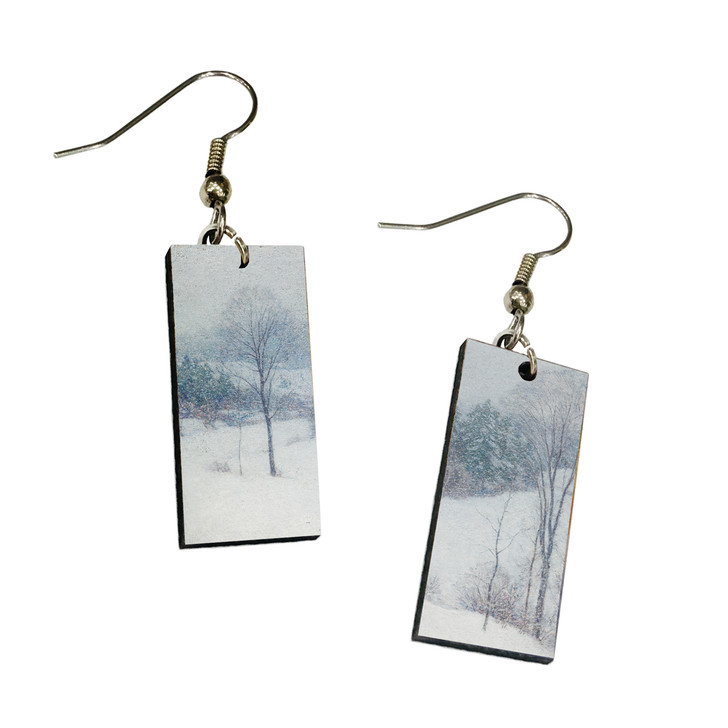 The White Veil, Metcalf Dangle Earrings