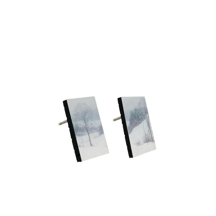 The White Veil, Metcalf Stud Earrings