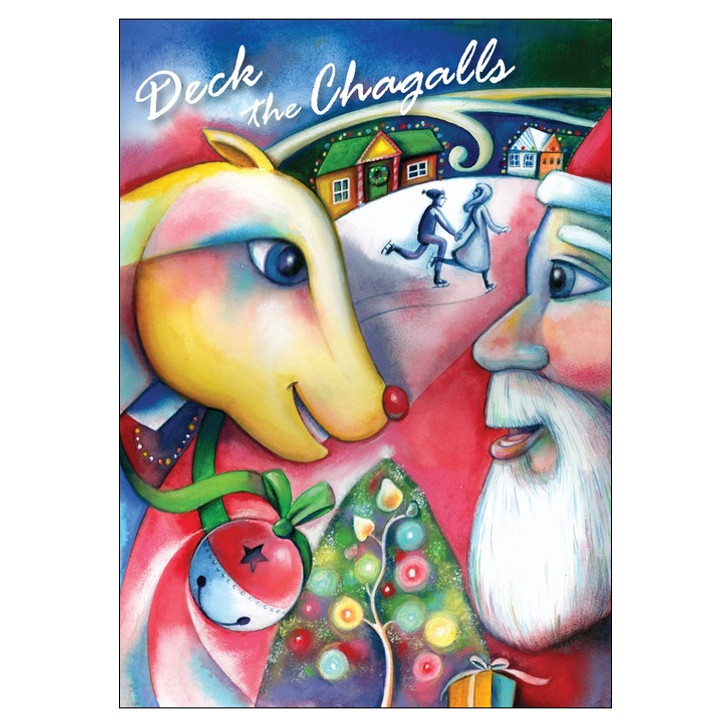 Deck the Chagalls Boxed Holiday Cards