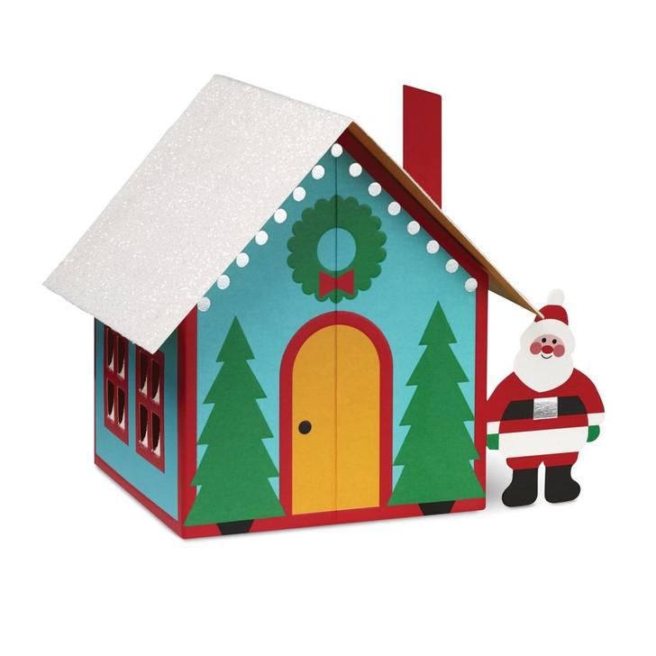 Santa's House Boxed Holiday Cards
