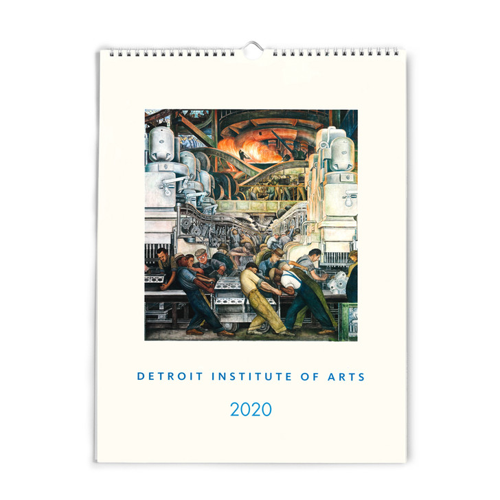 DIA Artwork Wall Calendar 2020