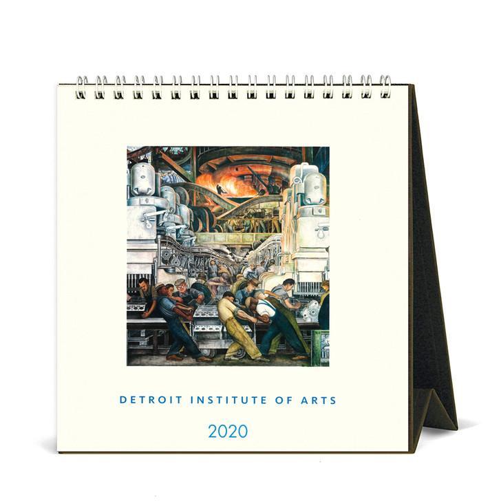 DIA Artwork Desk Calendar 2020