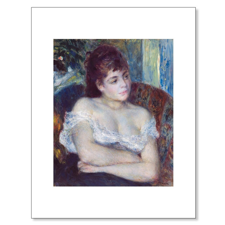 Woman in an Armchair, Renoir 11 x 14 Print
