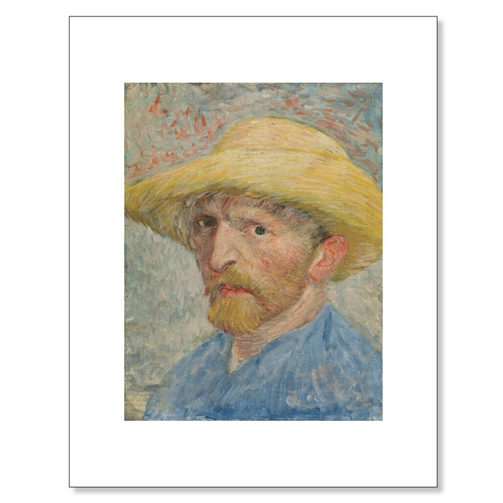 Self-Portrait, Van Gogh 11 x 14 Print
