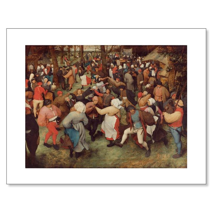 The Wedding Dance, Bruegel 11 x 14 Print