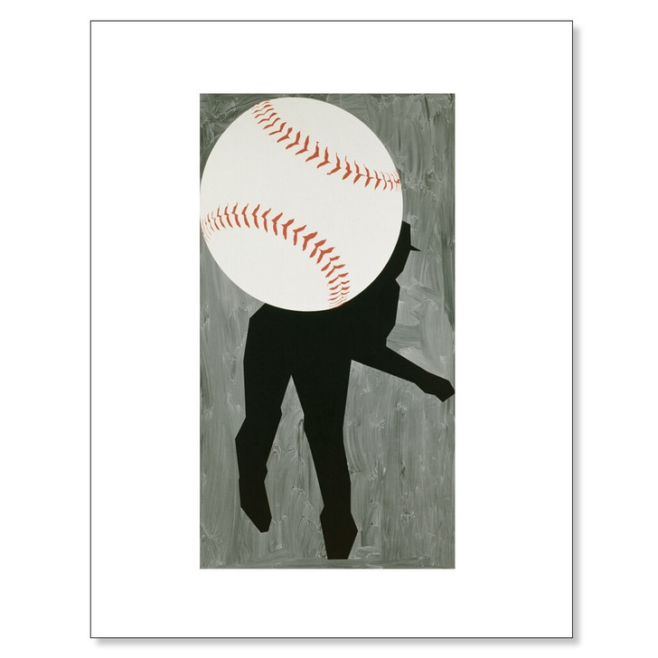 Hard Ball III, Moskowitz 11 x 14 Print