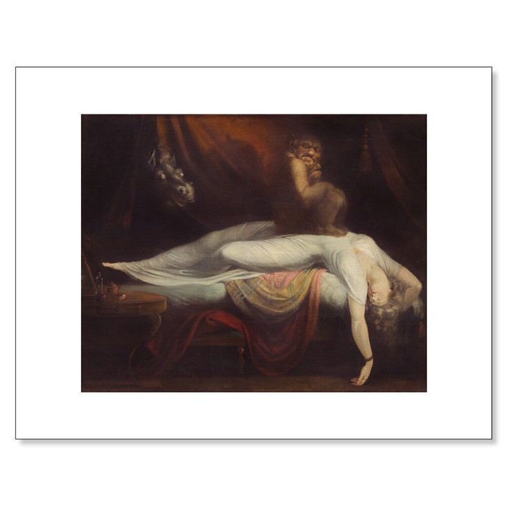The Nightmare, Fuseli 11 x 14 Print