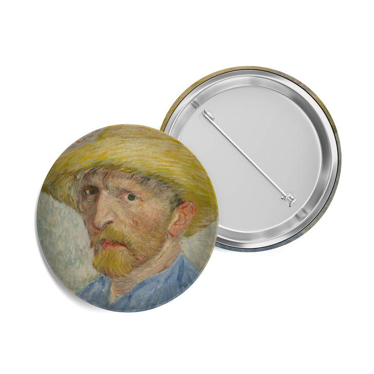 Self Portrait, Van Gogh Button