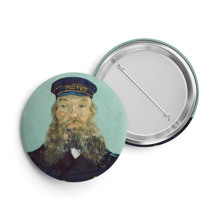 Portrait of Postman Roulin, Van Gogh Button