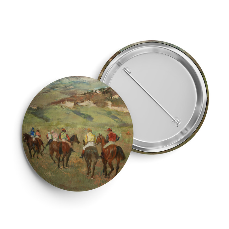 Jockeys on Horseback, Degas Button