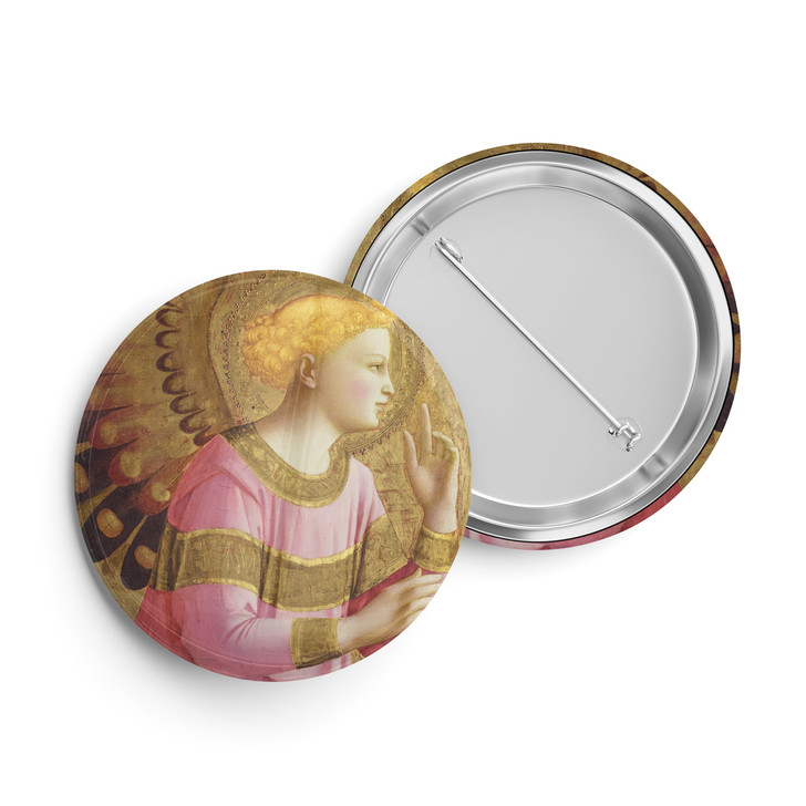 Annunciatory Angel, Fra Angelico Button