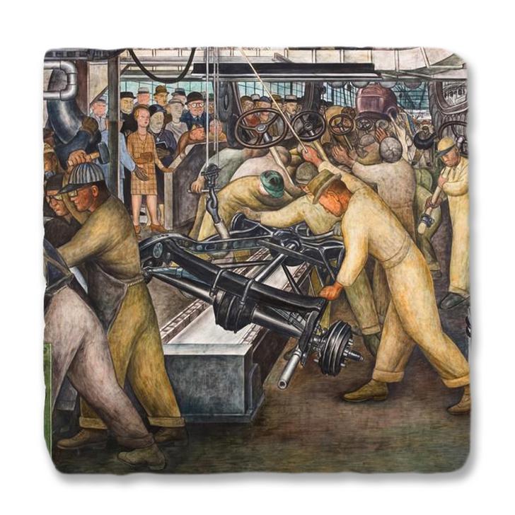 Detroit Industry, Undercarriage, Rivera Trivet
