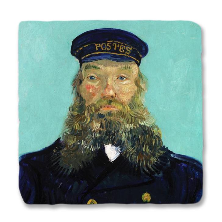 Portrait of Postman Roulin, Van Gogh Trivet