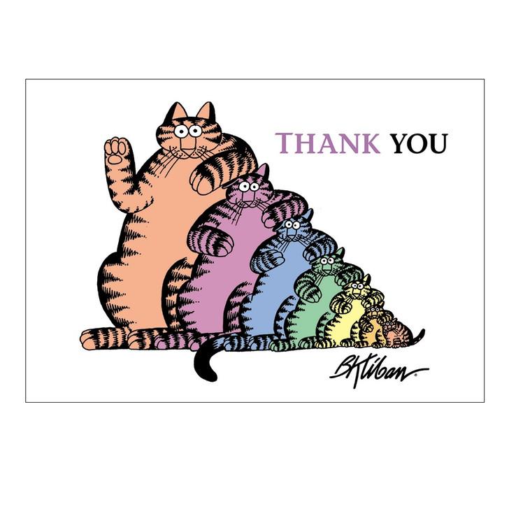 Stack of Cats, Kliban Boxed Notecards