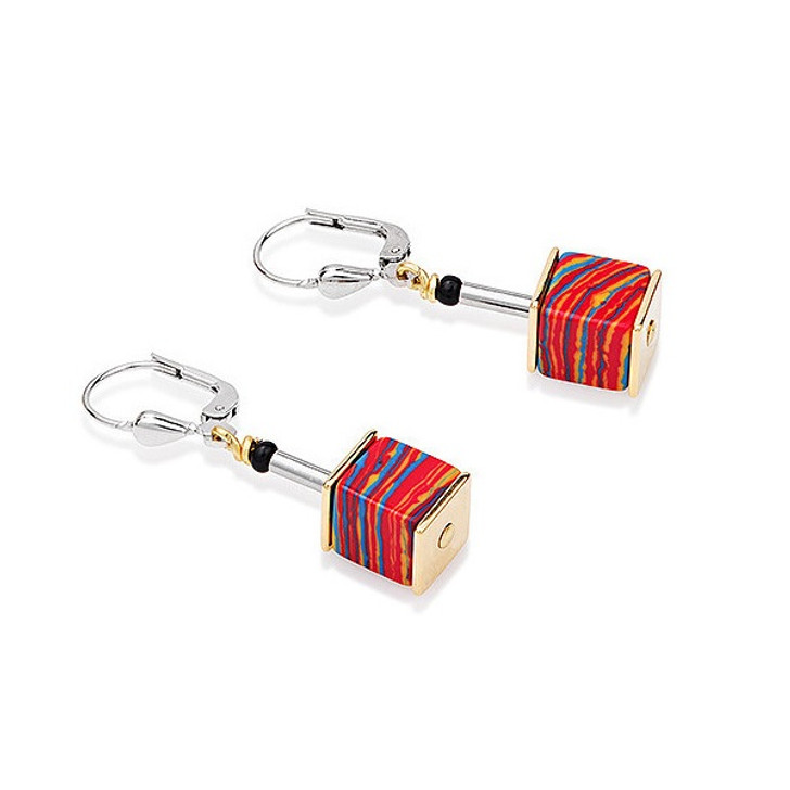 Rainbow Swarovski Earrings