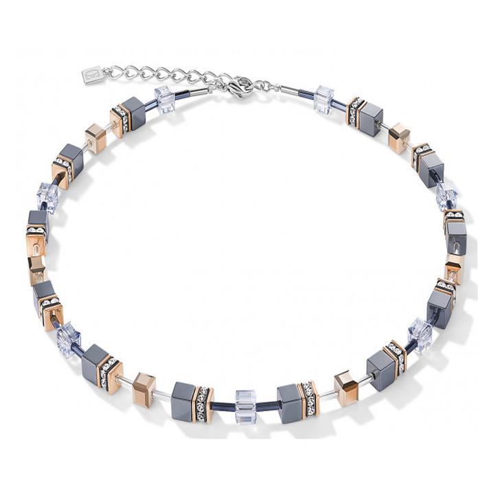 Hematite Swarovski Necklace