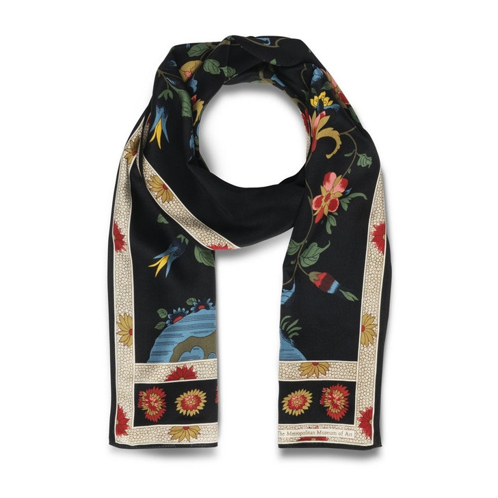 Qing Tree Oblong Scarf