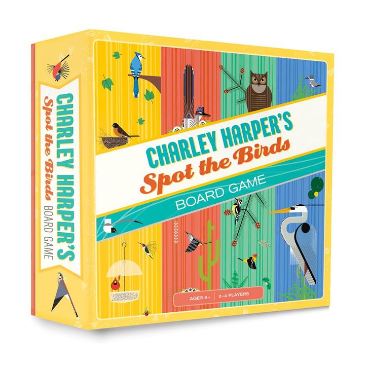 Charley Harper Spot the Birds Board Game