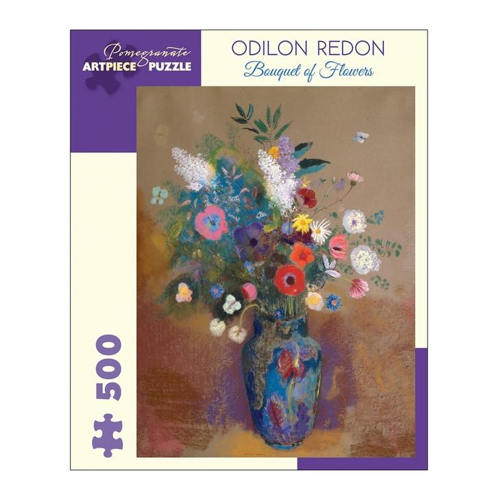 Odilon Redon: Bouquet of Flowers Puzzle