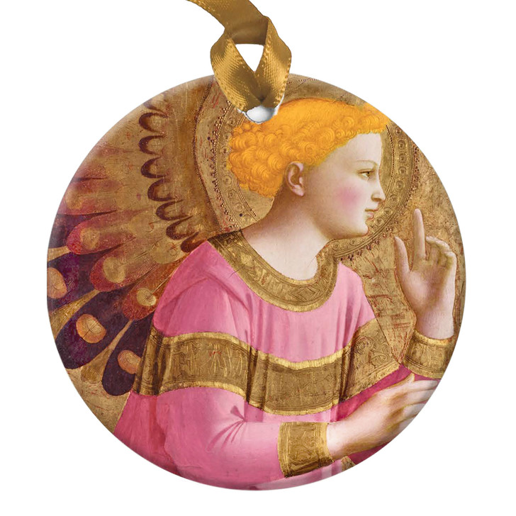 Annunciatory Angel, Fra Angelico Ornament