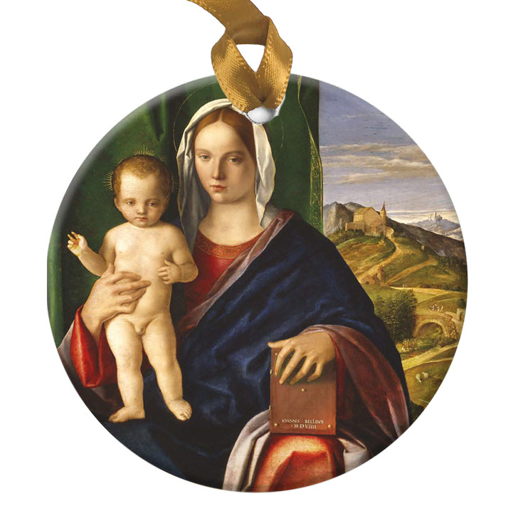 Madonna & Child, Giovanni Ornament
