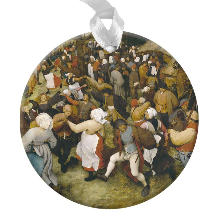 The Wedding Dance, Bruegel Ornament