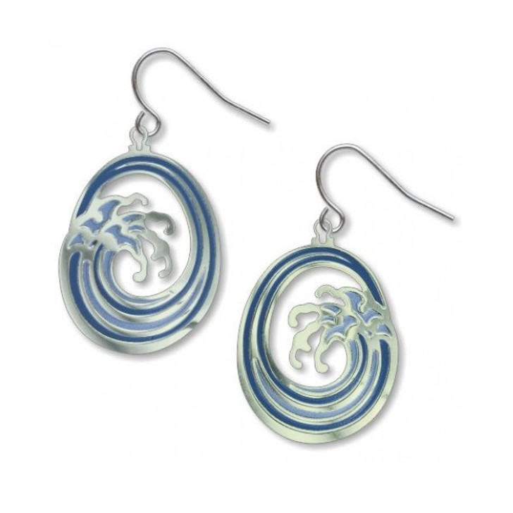 Great Wave Earrings