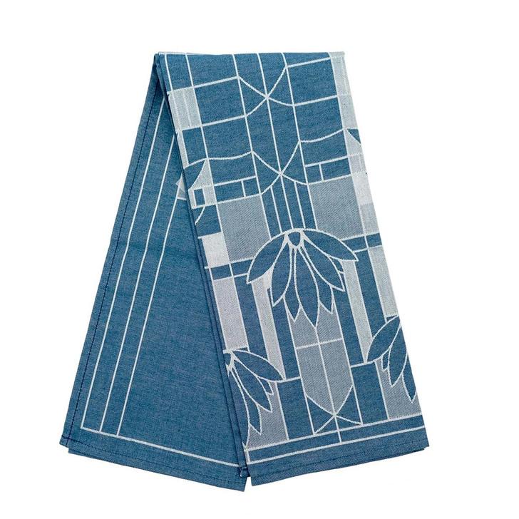 Frank Llloyd Wright Waterlilies Tea Towel